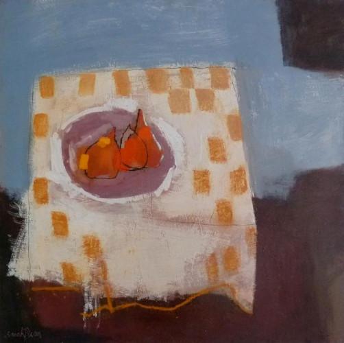 Table aux Carreaux Jaunes by Sarah Picon