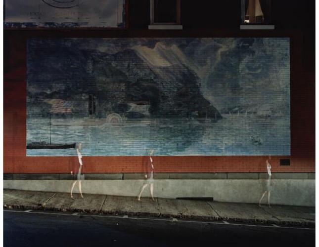 Walking in Nyack 2 by Maria Passarotti