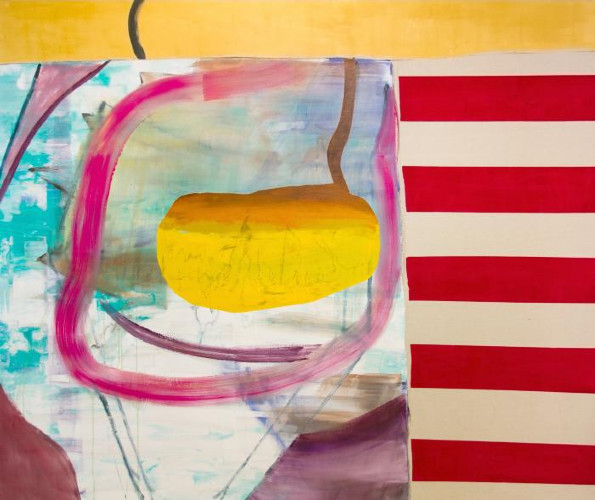 Burlap Flag by Jonathan Beer