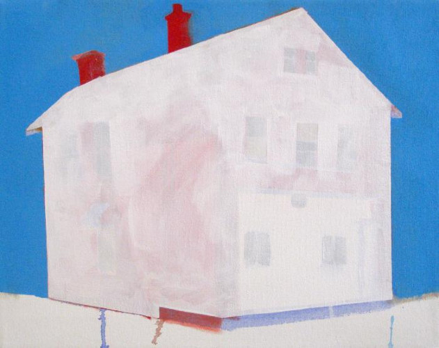 Red House, Blue Sky by Amy Greenan