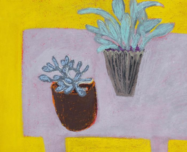 Two Plants by Angela A'Court