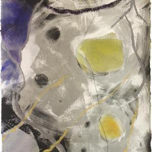 Silver Storm I by Rachelle Krieger