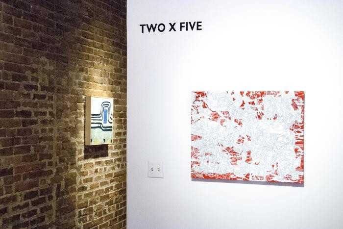 Installation View of TWOXFIVE