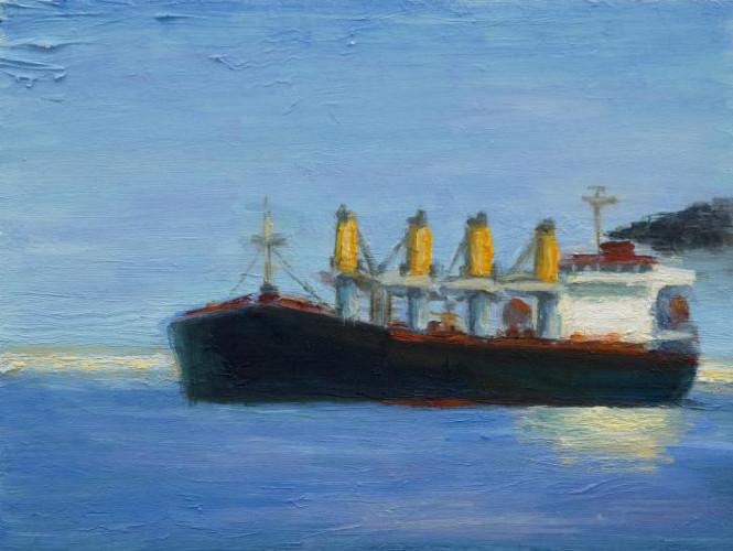 Tanker by Victor Honigsfeld