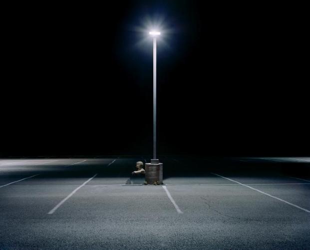 Parking Lot by Maria Passarotti