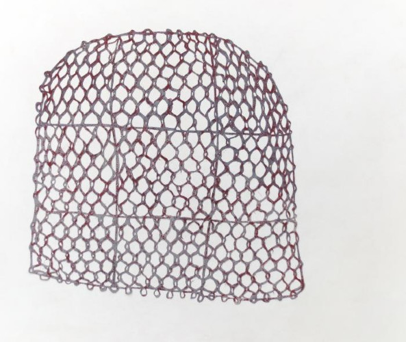 Basket for Silk Worms by Angela A'Court