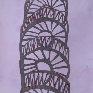 Lines and Curves I by Angela A'Court