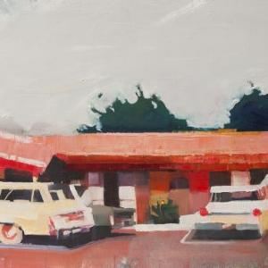 Howard Johnson's Parking Lot by Ruth Shively