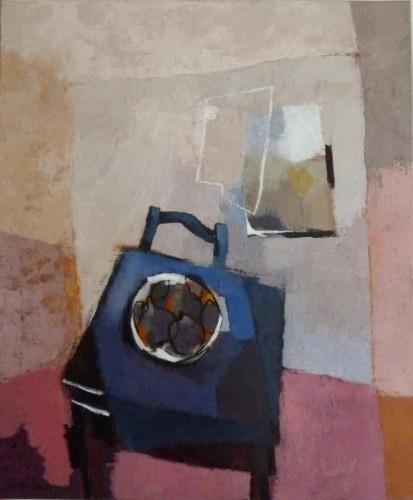 Table à la Nappe Bleue by Sarah Picon