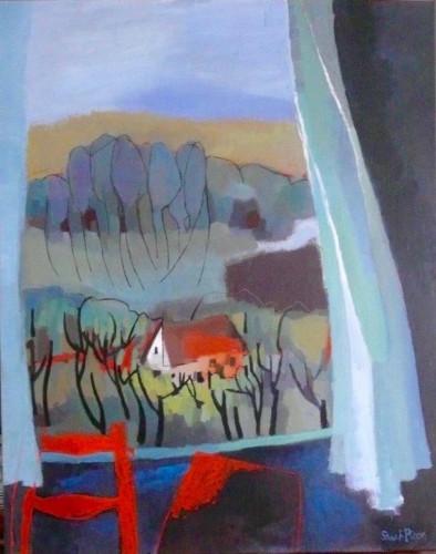 Grande Fenêtre à Conflans by Sarah Picon