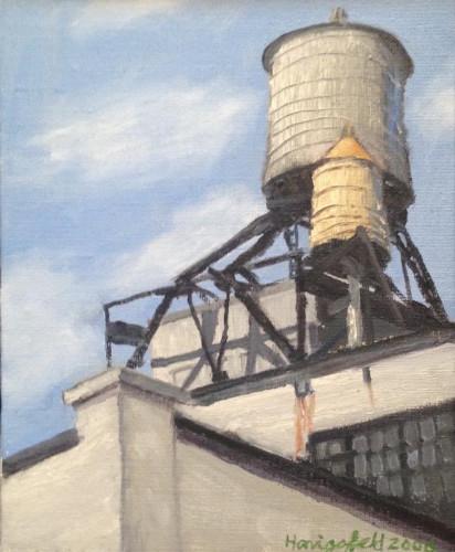 LIC Water Tower #7 by Victor Honigsfeld