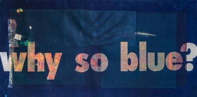 Why So Blue by Karin Bruckner