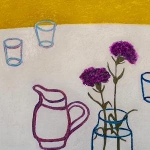 Pink Jug by Angela A'Court
