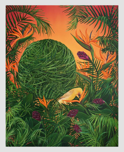 The Burden of Paradise by Allison Green