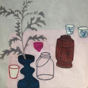 Pink Pot by Angela A'Court