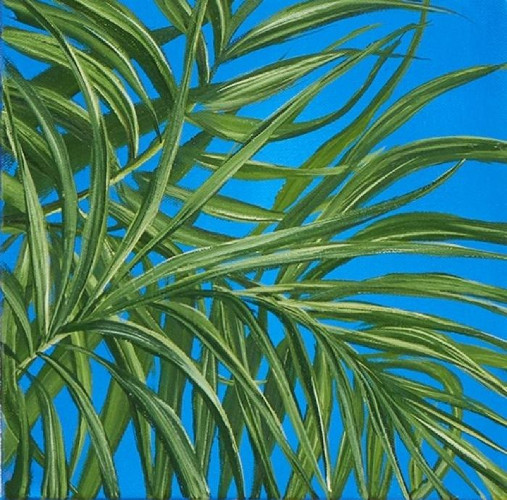 Tropical Study 4 by Allison Green