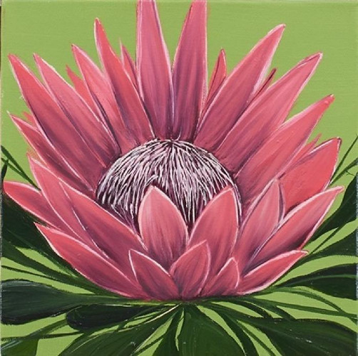Tropical Study 2 by Allison Green