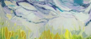 Stirring Dull Roots with Spring Rain (II) by Rachelle Krieger
