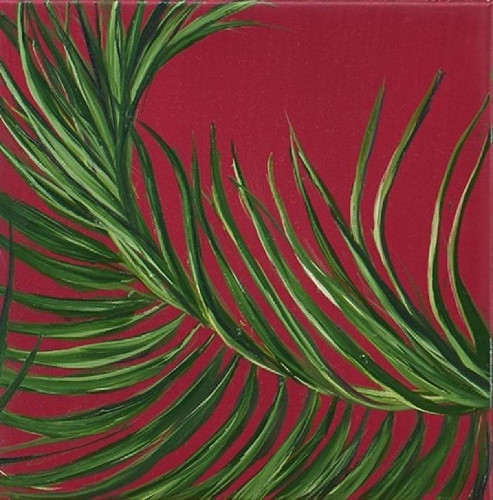 Tropical Study 5 by Allison Green