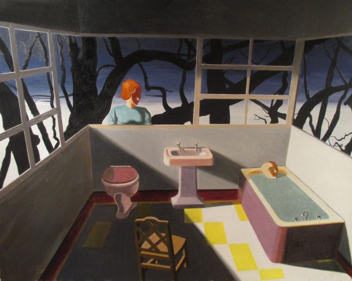 Peering In by Kathy Osborn