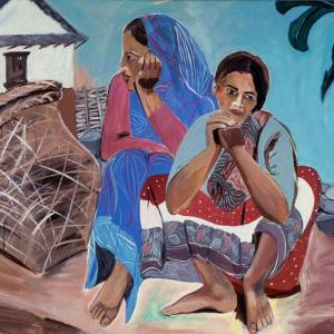 Himal Women by Carole Eisner