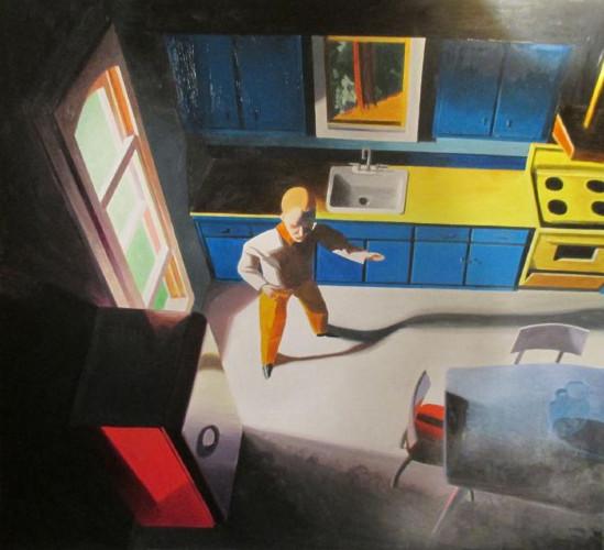 Working Man's Kitchen by Kathy Osborn