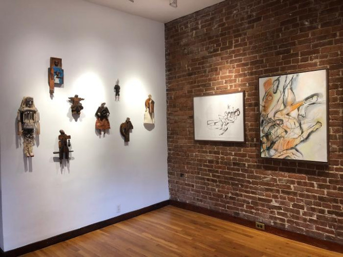 Installation View of Winter Selects 2019