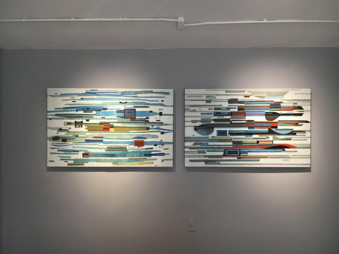 Installation View of Winter Selects Silvermine