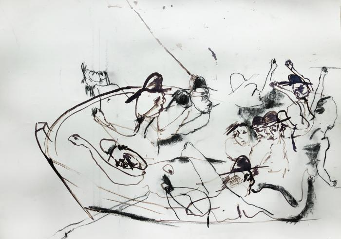 Sketch (Maumere) by Lydia Janssen