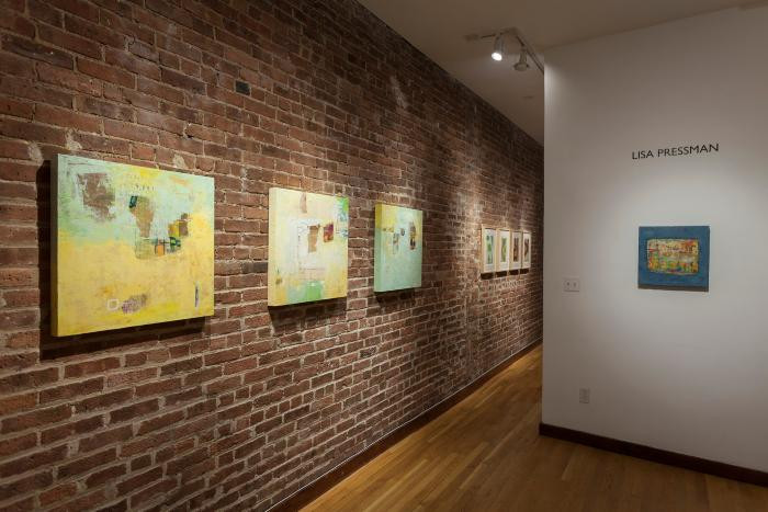 Installation View of MAPPING A PLACE