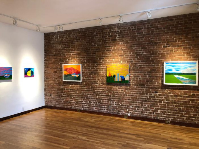 Installation View of A Sense of Place