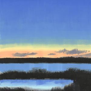 Low Purple Clouds by Rachel Burgess