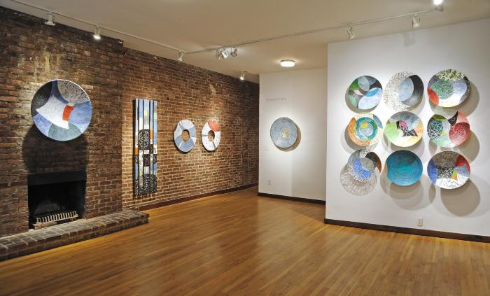 Installation View of SUSPENDING
