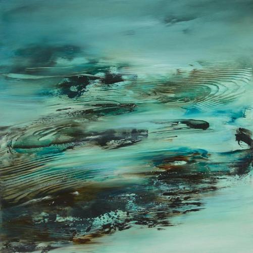 Foreign Shores Rigid Coast by Deborah Weiss