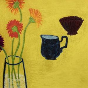 Yellow Table by Angela A'Court
