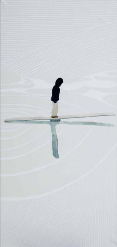 Girl Balancing by Vivian Kahra