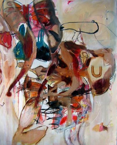 Left Leg Down by Lydia Janssen