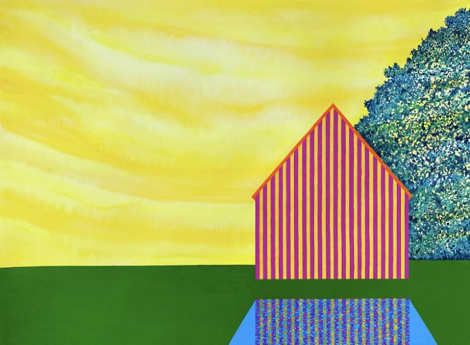 Lemon Sky by James Isherwood