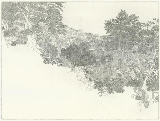 Stormy Landscape by Michael Eade