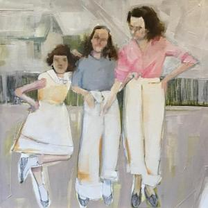 Girls in Spring by Ruth Shively