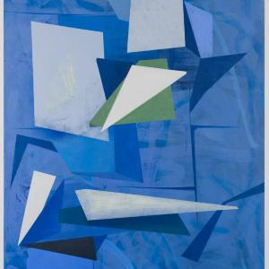 Untitled (Blue) by David Collins