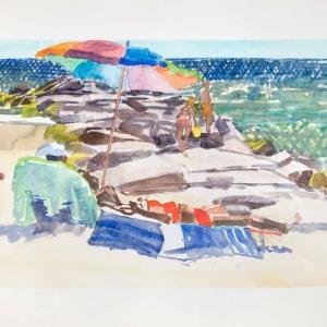 Long Beach Jetty 2 by Steve Singer