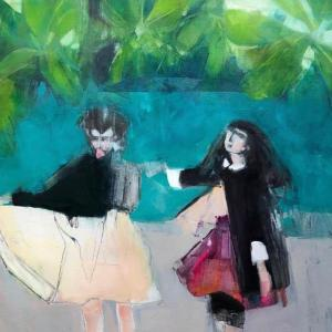 Girls in the Tropics by Ruth Shively