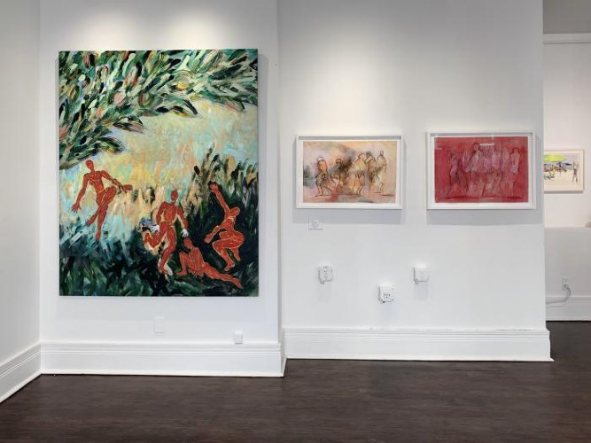 Installation View of Interplay