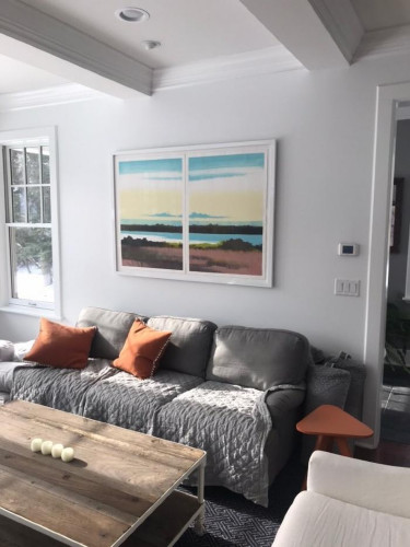 Installation View of Rachel Burgess