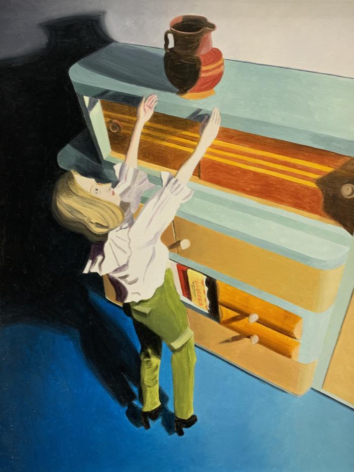 Reaching by Kathy Osborn