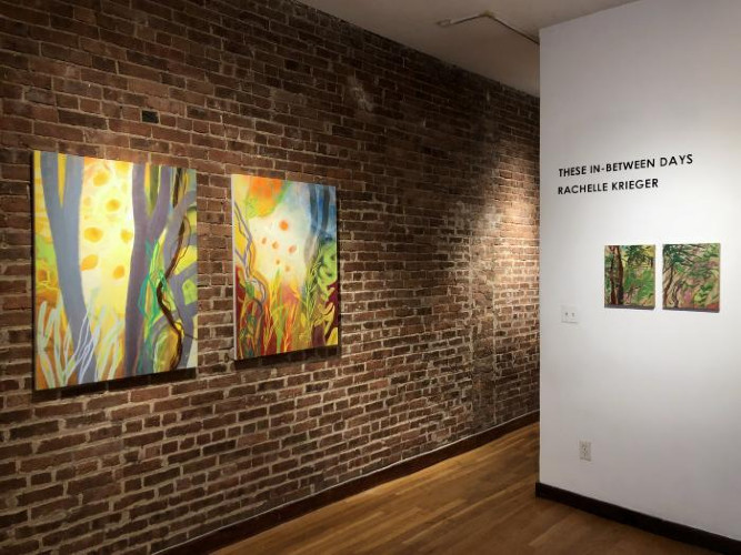 Installation View of These In-Between Days