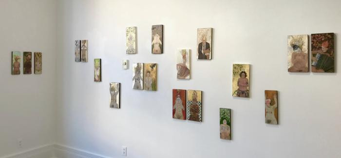 Installation View of Saints and Sisters
