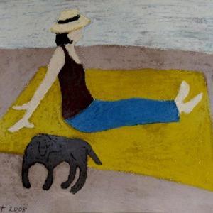 Montauk Lady by Angela A'Court