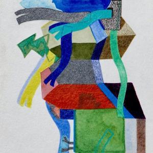 Untitled, Small Works No. 47 by Sasha Hallock